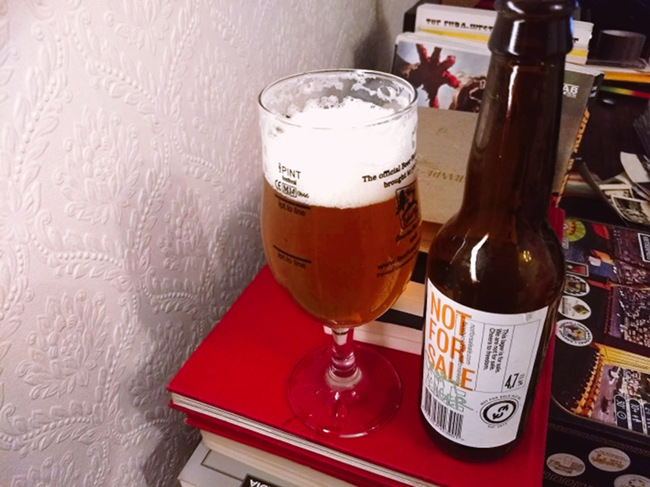 Not for Sale Ale -- Craft Lager
