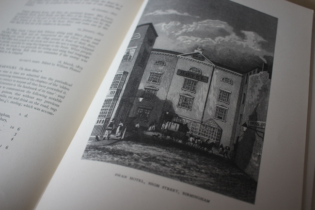 A page spread from the book with full-page pub picture.