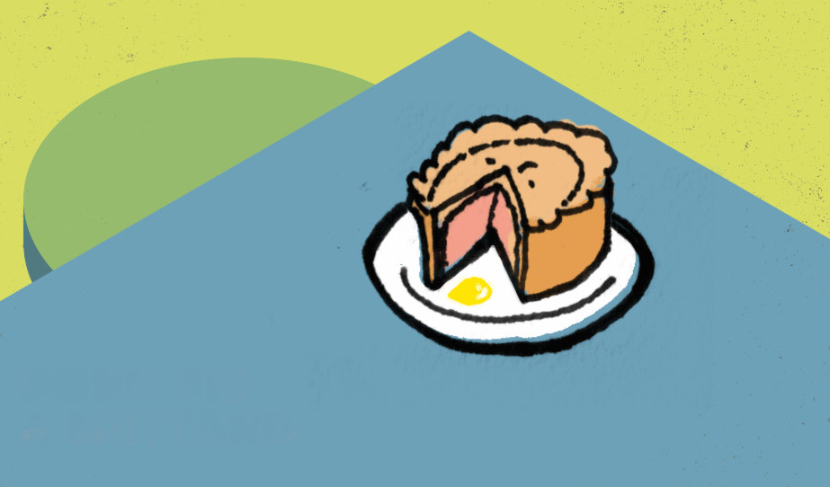 Illustration: pork pie.
