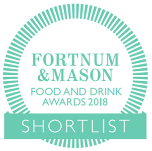 Fortnum & Mason Food and Drink Awards 2018 Shortlist.