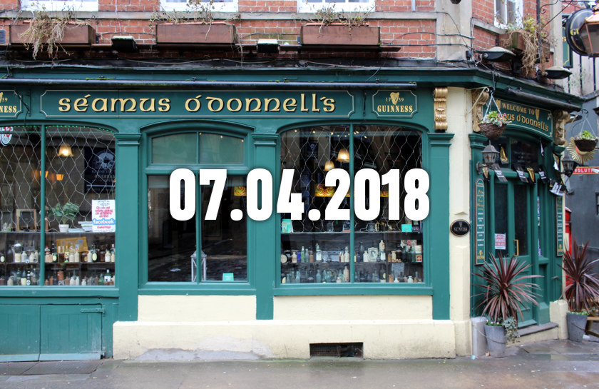 News, Nuggets & Longreads 7 April 2018: Tap Rooms, Masculinity, The Luppit