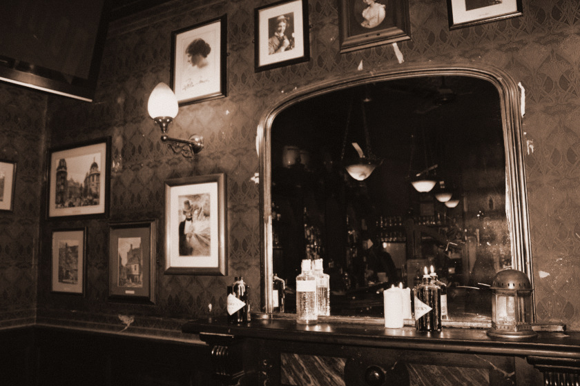 Session #135: Sepia-Toned Pubs