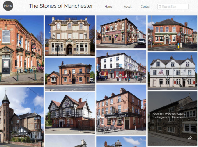 Screengrab of the Stones of Manchester.
