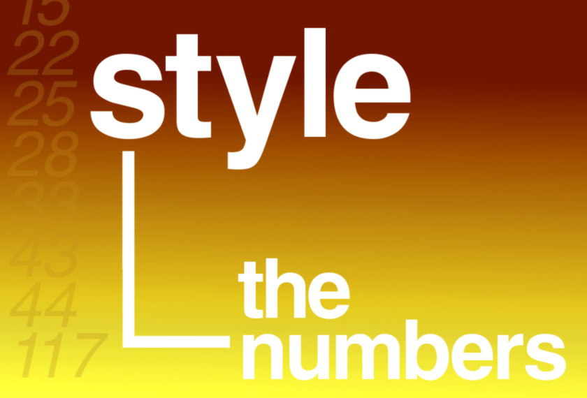 Illustration: style -- the numbers.