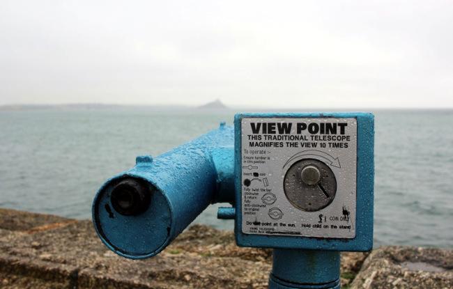Telescope in Cornwall.