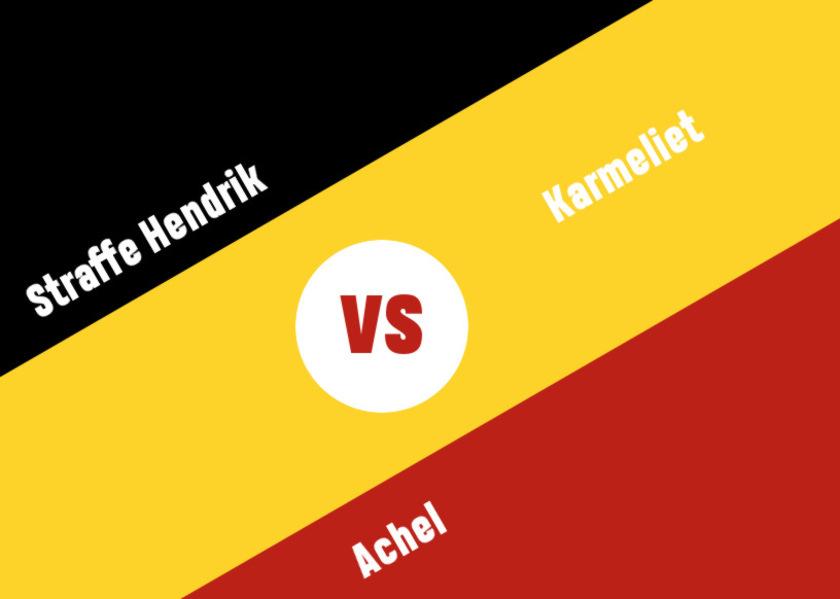 Tripel Off, Round 1, Game 2 – Straffe Hendrik vs Karmeliet vs Achel