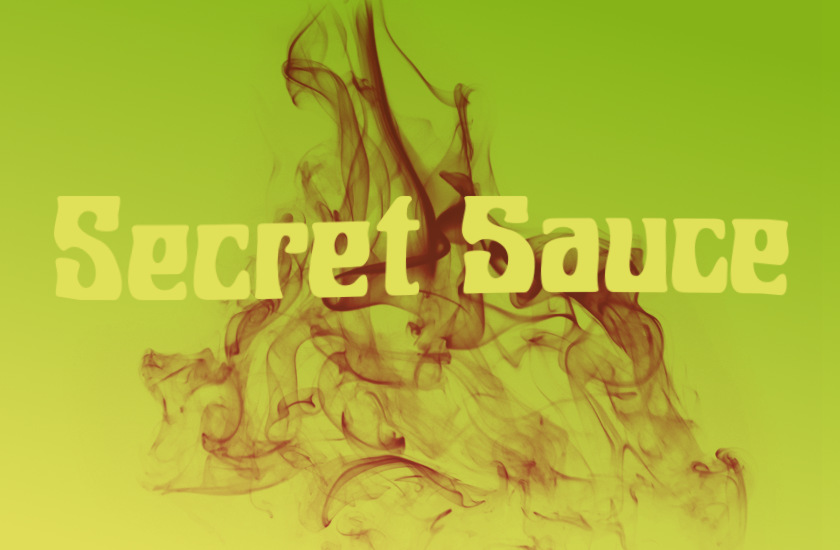 Illustration: Secret Sauce.