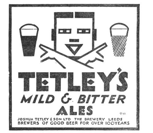 Tetley's Mild & Bitter Ales.