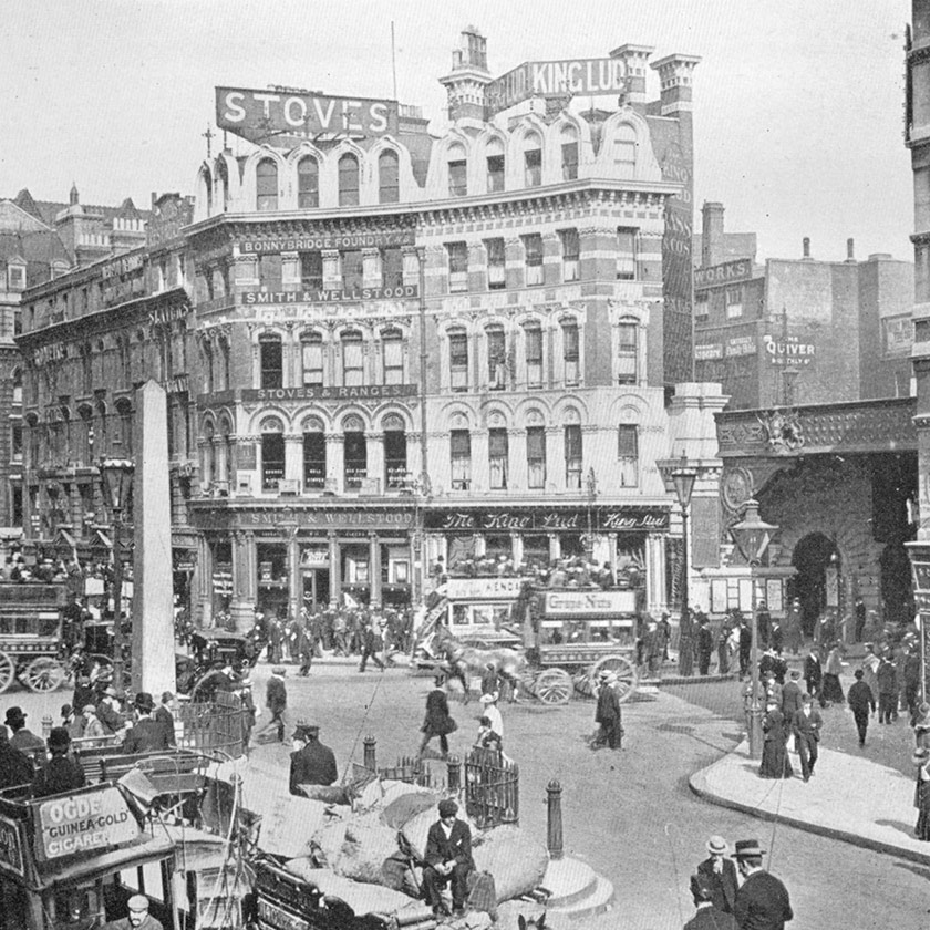 The King Lud, Ludgate Circus