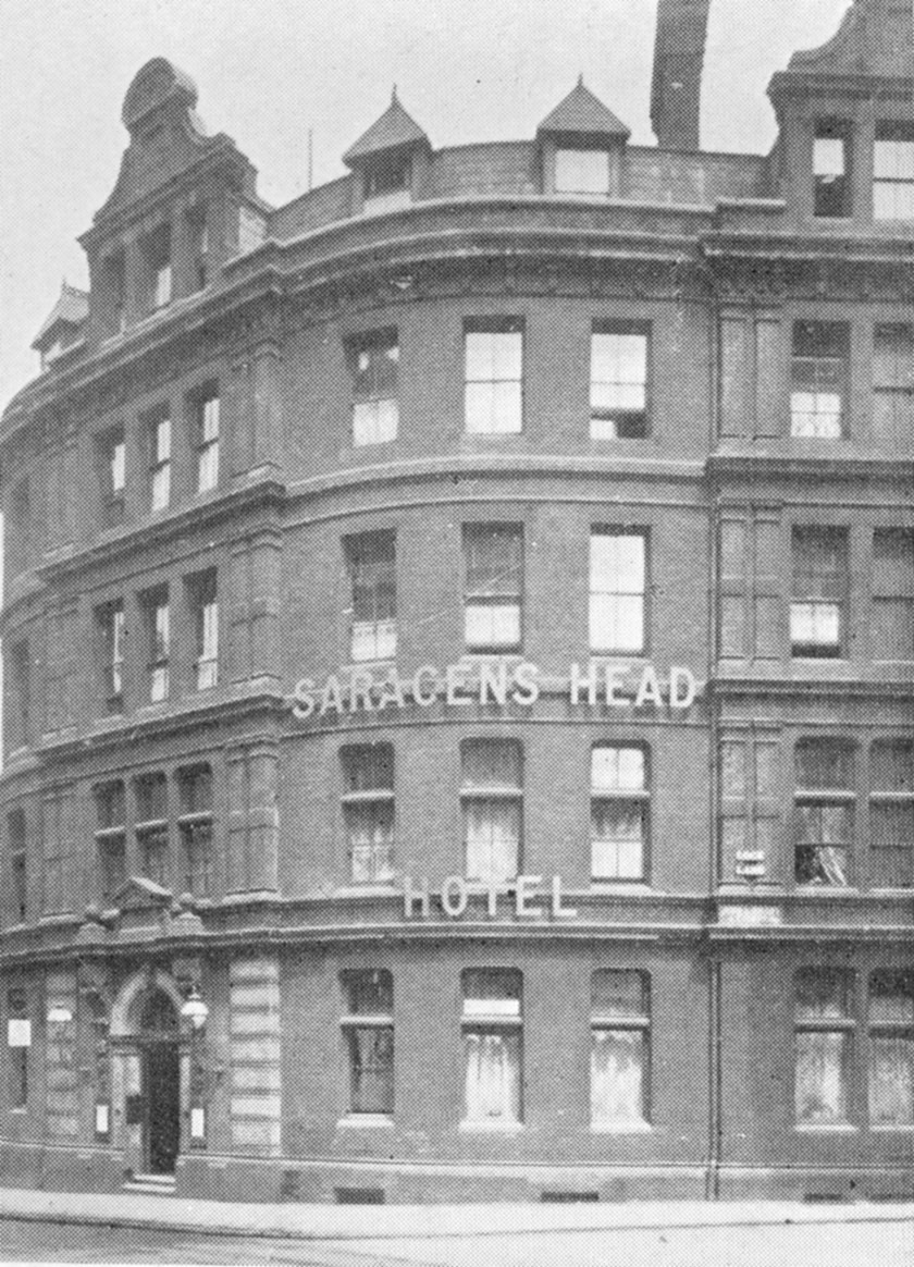 The Saracen's Head, Snow Hill.