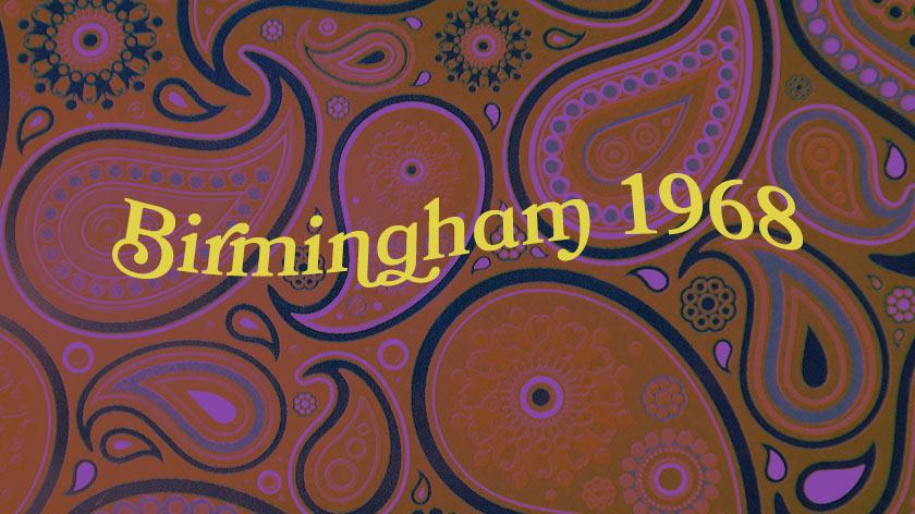Birmingham 1968.