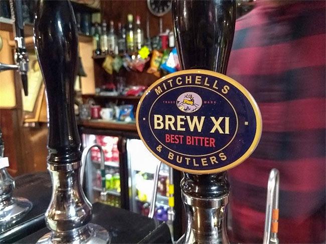 Brew XI beer pump.