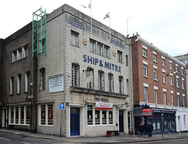 The Ship & Mitre, Liverpool.