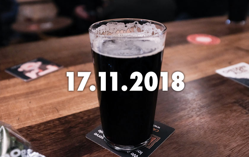 A pint of stout.