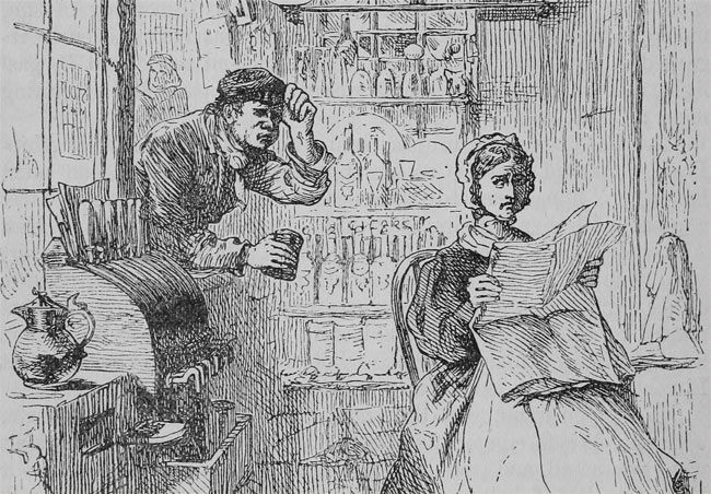 Victorian illustration of the Six Jolly Fellowship Porters.