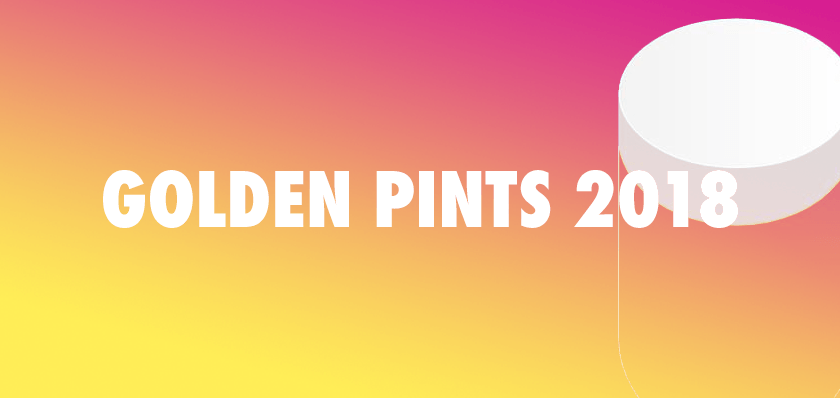 Golden Pints 2018.