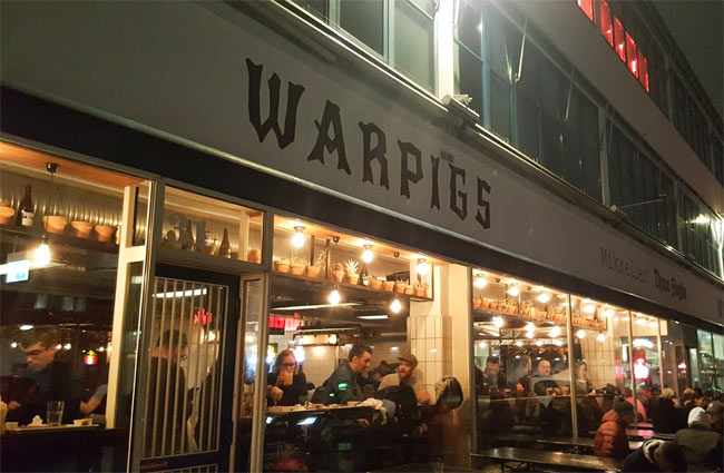 Warpigs in Copenhagen.