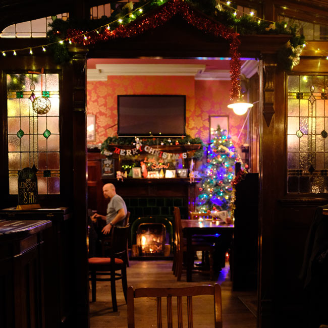The Forester, Ealing -- interior.