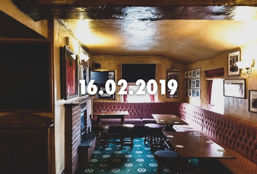 News, Nuggets and Longreads 16 February 2019: Beer Duty, BridgePort, Brussels