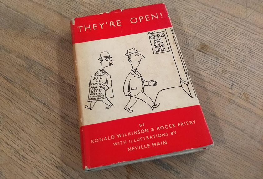 "Bits we underlined in ""They're Open!', 1950"