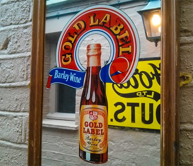 Gold Label Barley Wine.