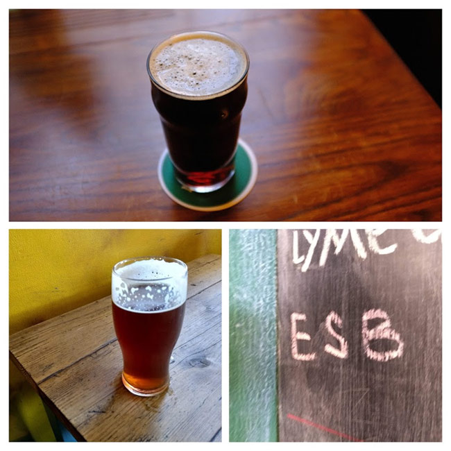 Strong ales and ESB.