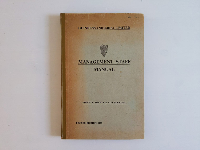 Management Staff Manual.