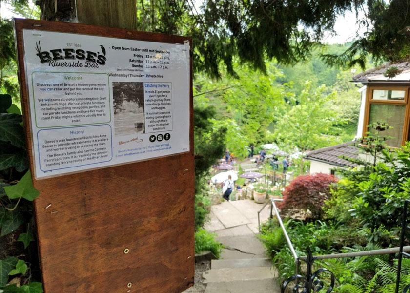Beese's Tea Gardens – Biergarten-am-Avon