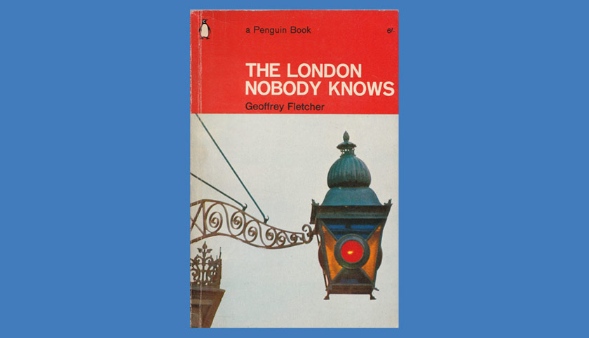 The cover of The London Nobody Knows, 1965 Penguin edition.