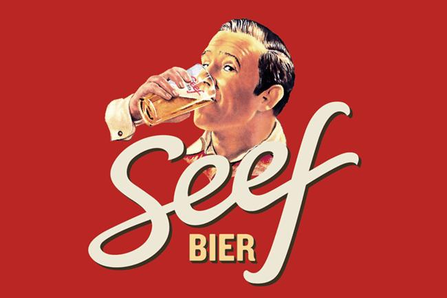 Seefbier logo.