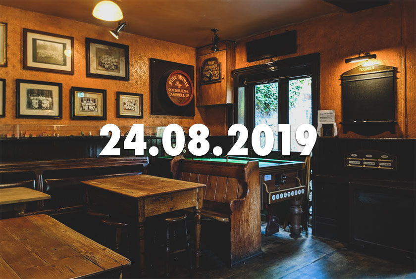 News, nuggets and longreads 24 August 2019: Greene King, Kveik, Wellington Boots