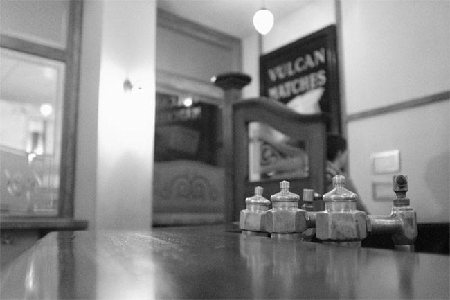 A recreation of a historic pub.