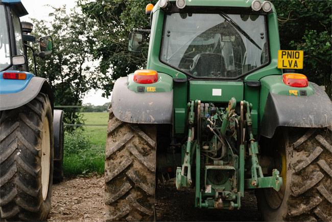 Tractors at Rivington.