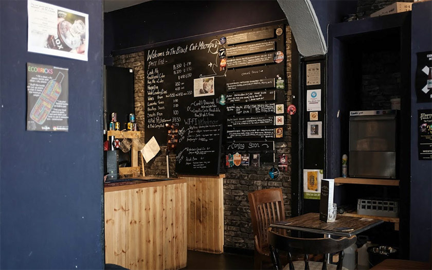 The Black Cat, Weston-super-Mare: micropub or craft beer bar?