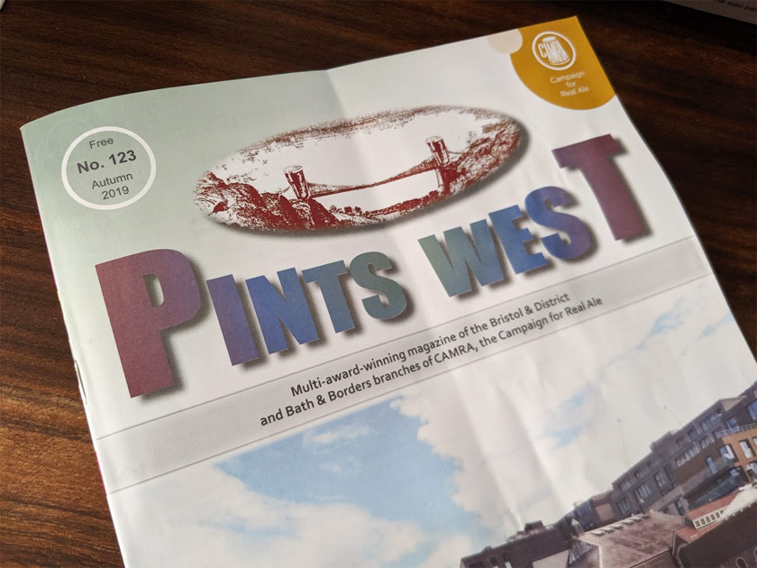Pints West: a mine of information