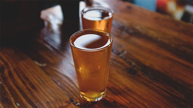 Cider at the Cider Press.