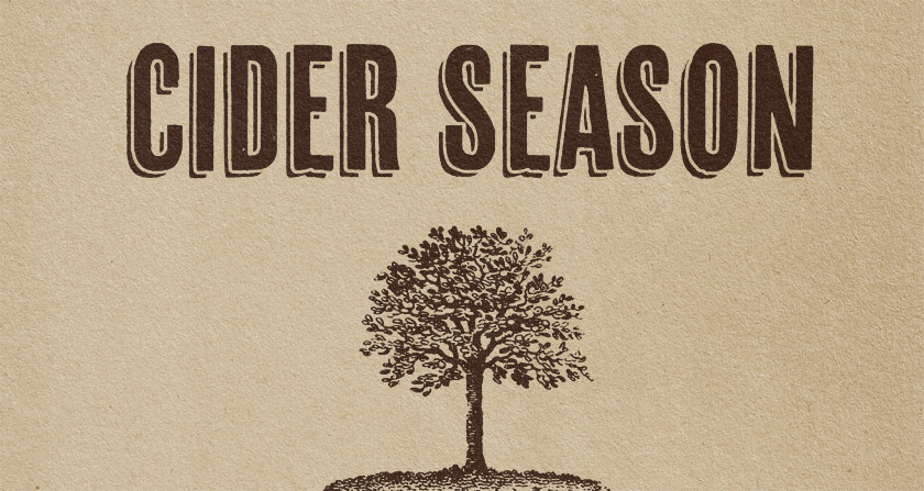 What we're up to in October: Cider Season
