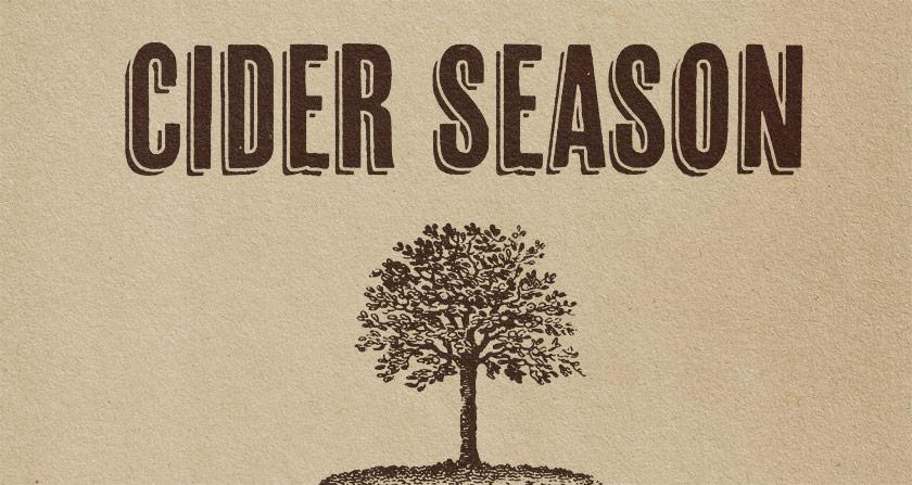 Cider season.