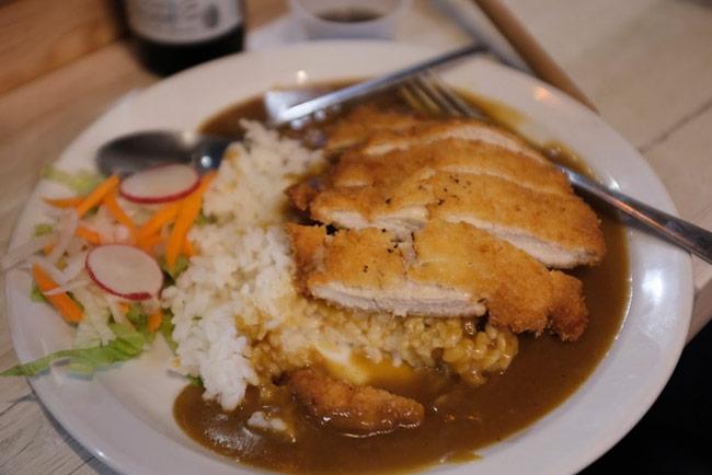 Katsu curry.