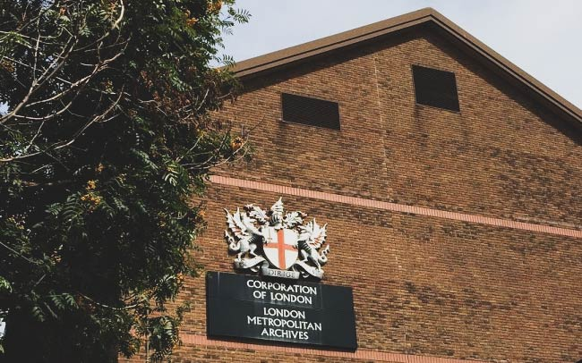 The London Metropolitan Archives.