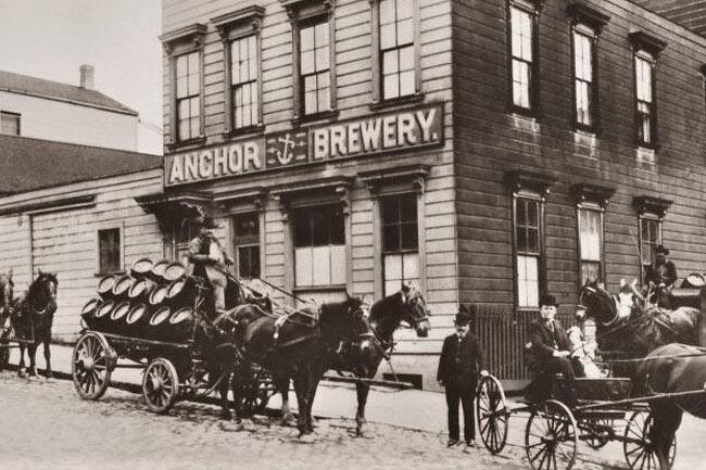 Anchor brewery, San Francisco.