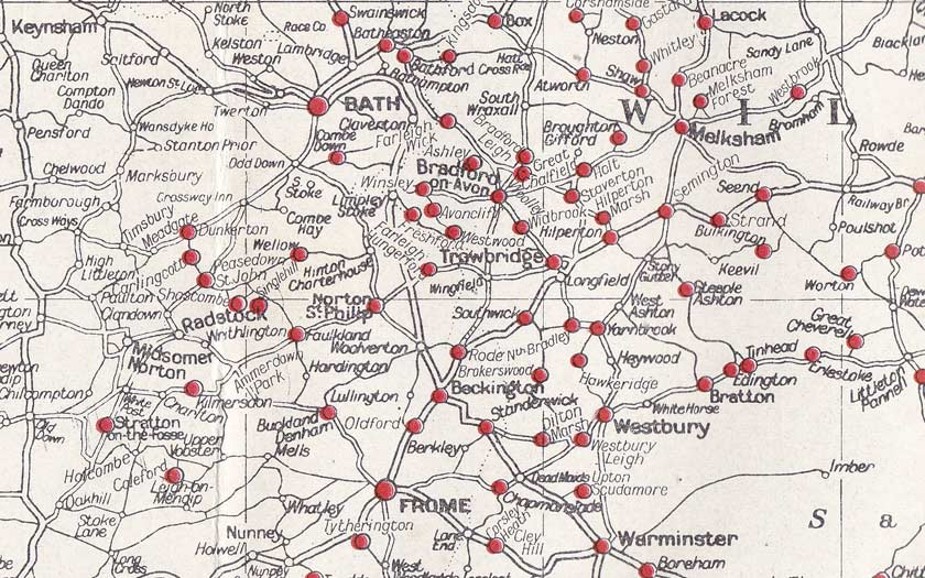 Details of a map from 1965.